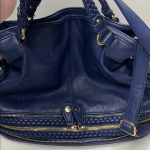 Urban expression big blue woman's bag